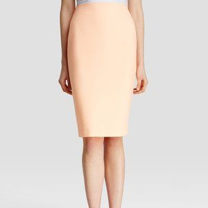 Elizabeth and James Aisling Pencil Skirt: Peach, 8